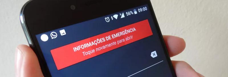 Seu celular pode salvar sua vida